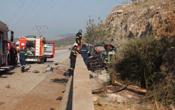 Τρία παιδιά νεκρά στο δυστύχημα στην Εγνατία