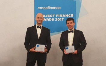 Σημαντική βράβευση της Fraport Greece στα EMEA Finance's Project- Finance Awards 2017