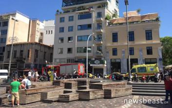 Γυναίκα έπεσε στις γραμμές στον σταθμό του ΗΣΑΠ στο Μοναστηράκι