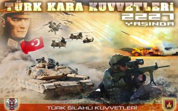 Οι Τούρκοι γιορτάζουν τα… 2.227 χρόνια από την ίδρυση του στρατού τους