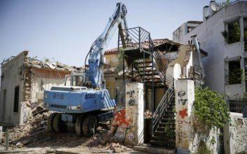 Αστυνομική επιχείρηση σε κατειλημμένο κτίριο στα Εξάρχεια