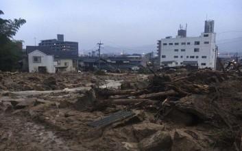 Στους 81 οι νεκροί στην Ιαπωνία από τις «άνευ προηγουμένου» βροχοπτώσεις