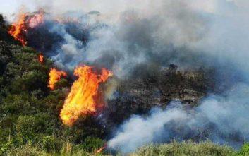 Σε εξέλιξη δυο νέες δασικές πυρκαγιές στη Ζάκυνθο