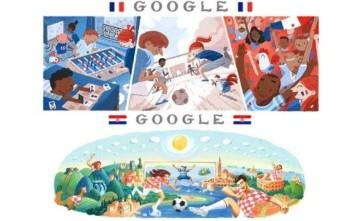 Ο τελικός του Παγκοσμίου Κυπέλλου 2018 στο doodle της Google