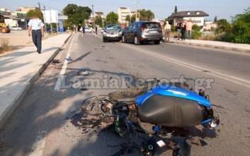 Γιος και μητέρα τραυματίστηκαν σοβαρά σε τροχαίο στη Λαμία