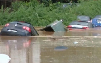 Πλημμύρα στα βόρεια προάστια της Αττικής