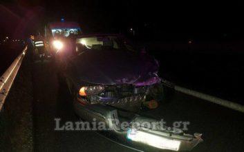 Οδηγός βγήκε... ατσαλάκωτος από τροχαίο στην Αθηνών - Λαμίας