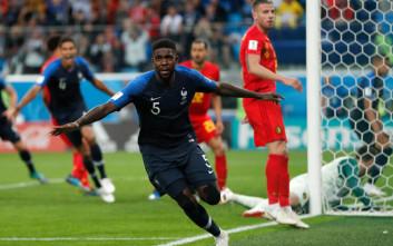 Η Γαλλία στον τελικό του Παγκοσμίου Κυπέλλου, 1-0 το Βέλγιο