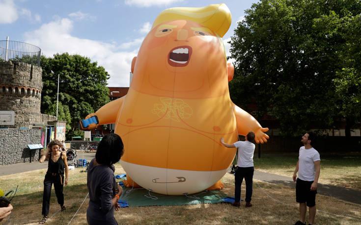 Το μπαλόνι-Τραμπ, σύντομα και στο Νιου Τζέρσι