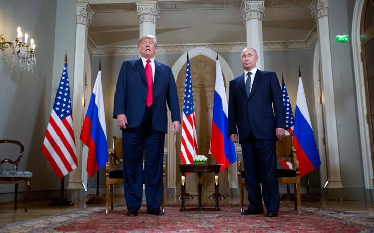 Ο Τραμπ ζήτησε να προσκληθεί στην Ουάσινγκτον ο Πούτιν