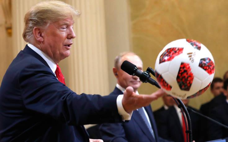 Πολιτική θύελλα από τις δηλώσεις του Τραμπ στη σύνοδο κορυφής