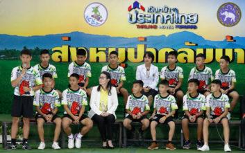 Τα 12 παιδιά είναι καλά στην υγεία τους και έχουν πάρει βάρος