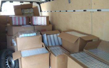 Συνελήφθη 47χρονος στην Κόρινθο με 10.500 πακέτα λαθραίων τσιγάρων και καπνού
