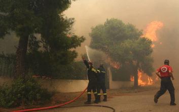 Εκκενώθηκαν προληπτικά κατοικίες στο Φίλυρο Θεσσαλονίκης