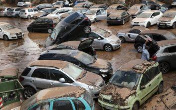 Το νερό που έπεσε στην καταιγίδα στα βόρεια προάστια