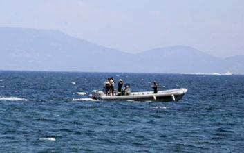 Ανατροπή ιστιοφόρου σκάφους στον Σχοινιά