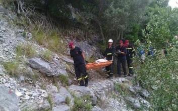 Γυναίκα έπεσε σε γκρεμό στο Λασίθι