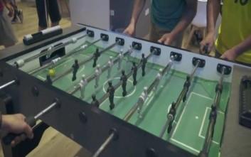 Ποδοσφαιράκι με… άρωμα Ρωσίας σε πρακτορείο ΟΠΑΠ