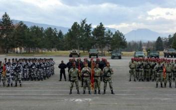 Αυτή είναι η ισχύς των ενόπλων δυνάμεων της ΠΓΔΜ