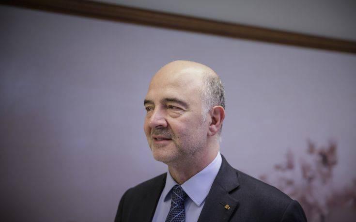 Μοσκοβισί: Μένει ακόμη δουλειά να γίνει για την Ιταλία