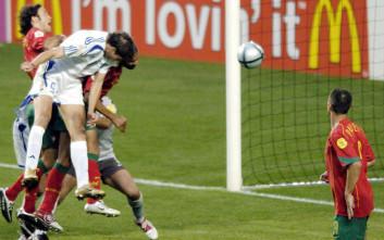 Τα καρέ από τη μεγαλύτερη επιτυχία του ελληνικού ποδοσφαίρου