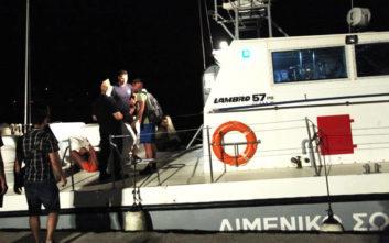 Δεκάδες μετανάστες εντοπίστηκαν κοντά στον Αστακό