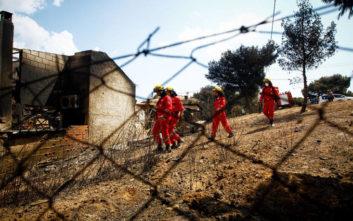 Σωφρονιστικοί υπάλληλοι και κρατούμενοι συνδράμουν τους πυρόπληκτους