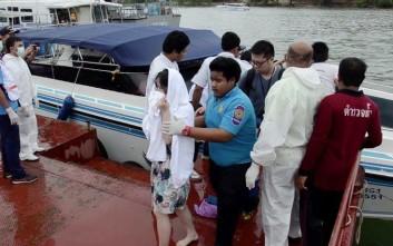 Δεκάδες αγνοούμενοι από ναυάγιο ανοιχτά του Πουκέτ