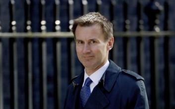 Νέος υπουργός Εξωτερικών της Βρετανίας ο Τζέρεμι Χαντ