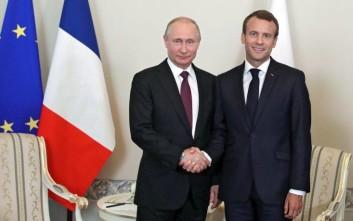 Πιθανή η συνάντηση Μακρόν - Πούτιν στο περιθώριο της G20