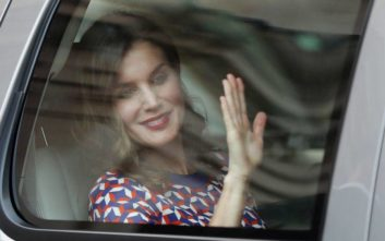 Συνεχίζει τον αγώνα της κατά του καρκίνου η βασίλισσα Λετίθια