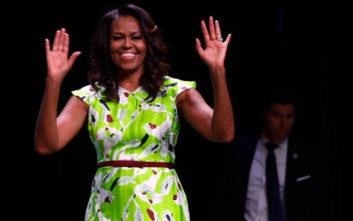 Με σορτς και πλατφόρμες η Μισέλ Ομπάμα στη συναυλία της Μπιγιονσέ