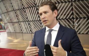 Σκάνδαλο στην Αυστρία: «Φτάνει πια» το μήνυμα του Κουρτς μετά την προκήρυξη εκλογών