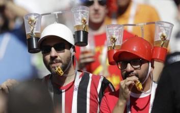 Αύξηση-ρεκόρ στην κατανάλωση μπίρας από την αρχή του Μουντιάλ