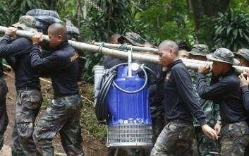 Η προειδοποίηση των διασωστών για τα εγκλωβισμένα παιδιά στην Ταϊλάνδη