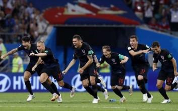 Κάποιοι είδαν χωρίς αγωνία τα πέναλτι στον προημιτελικό Ρωσίας-Κροατίας