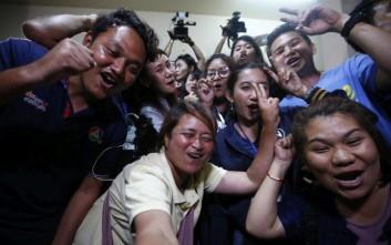 Το χρονικό της δραματικής διάσωσης από το σπήλαιο στην Ταϊλάνδη