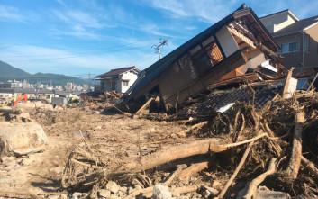 Κατολίσθηση καταπλάκωσε σπίτια στη νήσο Χοκάιντο στην Ιαπωνία