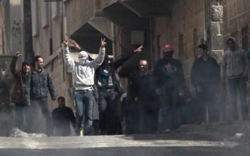 Η σημαία της Συρίας υψώθηκε στην πόλη όπου ξεκίνησε ο εμφύλιος
