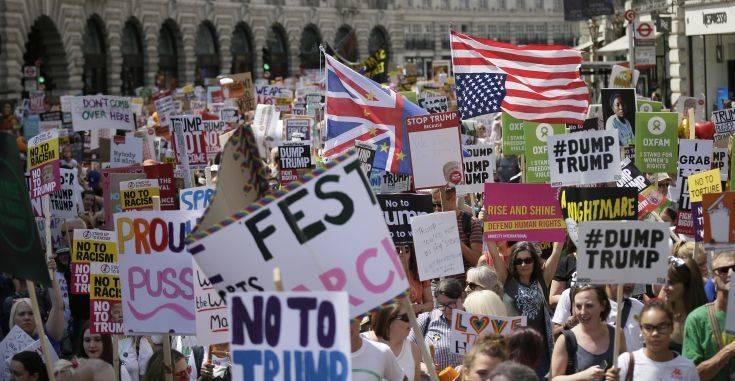 Britain Trump Visit