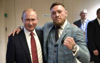 Στον τελικό του Μουντιάλ ο ΜακΓκρέγκορ, ως καλεσμένος του Πούτιν