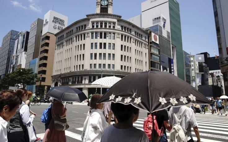 Συναγερμός στην Ιαπωνία για τον παρατεταμένο καύσωνα