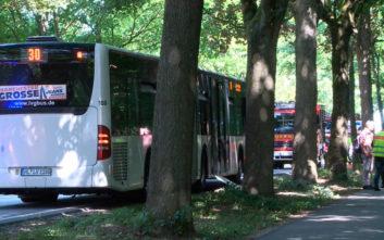 Βίαιο επεισόδιο με μαχαίρι σε λεωφορείο στη Γερμανία