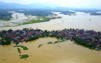 Εκατοντάδες αγνοούμενοι από κατάρρευση υδροηλεκτρικού φράγματος