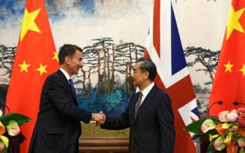 Η «γκάφα» του Βρετανού ΥΠΕΞ στην Κίνα