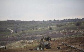 Δεκάδες άμαχοι Σύροι προσέγγισαν τα σύνορα με το Ισραήλ