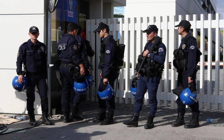 Προσαγωγές και συλλήψεις στο τουρκικό υπουργείο Εξωτερικών