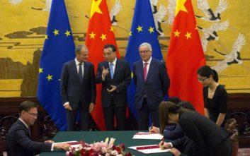 Ξεκίνησε η 20ή Σύνοδος Κίνας-Ευρωπαϊκής Ένωσης