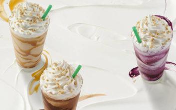 Αυτό το καλοκαίρι, ζήστε έντονα την κάθε σας στιγμή με τα νέα Cheesecake Frappuccino®