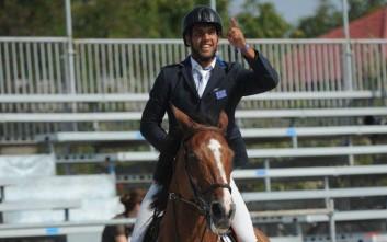 Πένθος στον κόσμο της ιππασίας για τον θάνατο του Λουκά Παπαδόπουλου